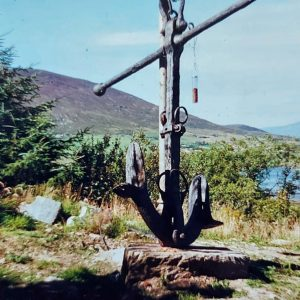 10 foot high very old anchor selling price on request.jpg