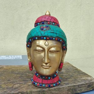 10.5-inch-buddha.-Cloisonne-on-brass-