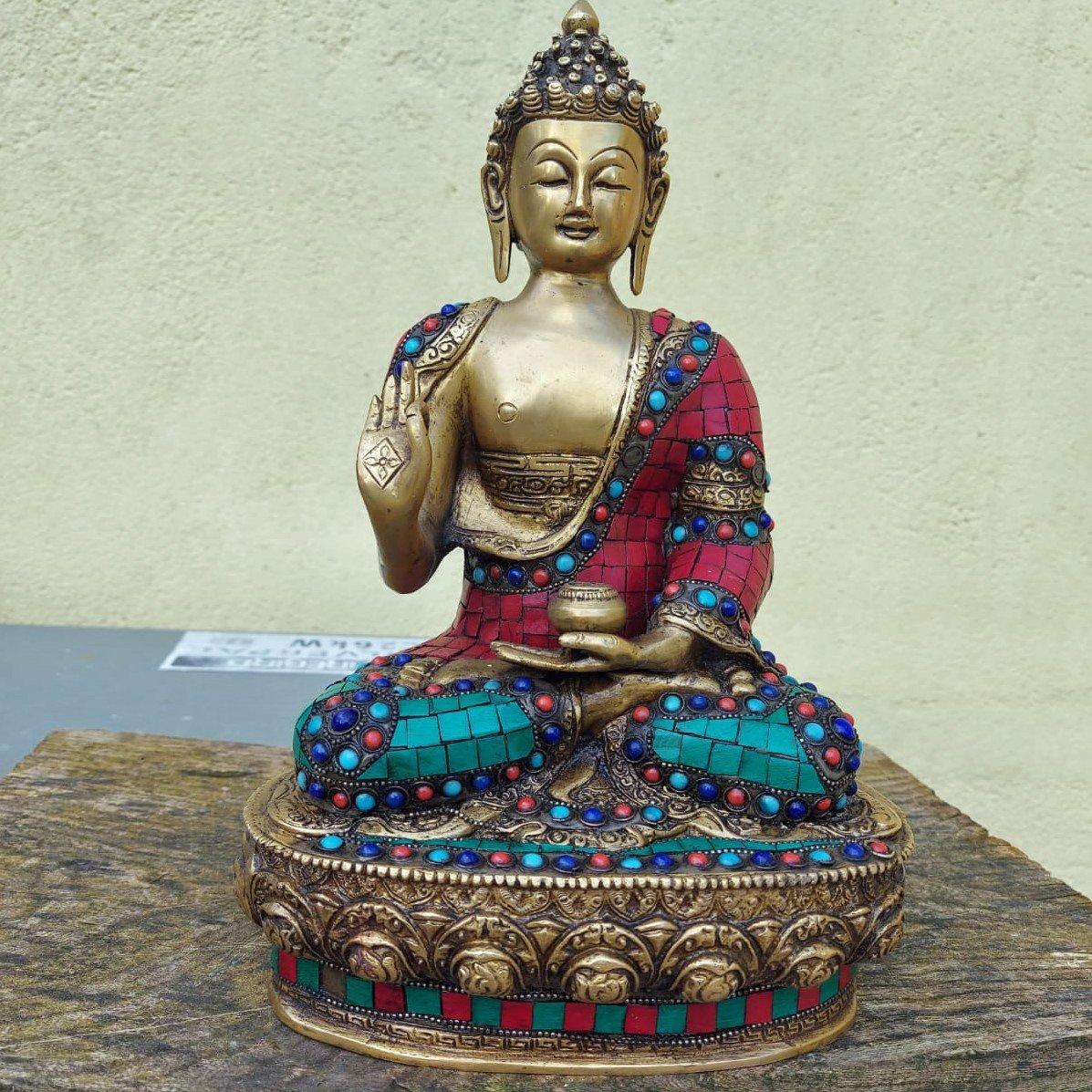 13-inch-buddha-cloisonne-on-brass-price-350