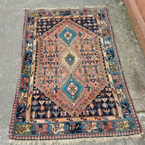 Antique Persian Carpet 5 feet by 3 feet 2 inches