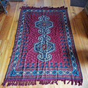 Kashmiri Chain Stitch Rug, 6 feet X 4 feet