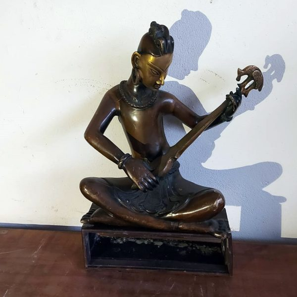 Brass musician 18 inches high price 450