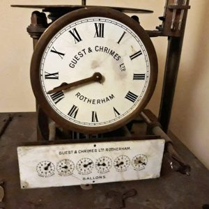 Clock for governing water works. ideal for museum. made in Rotherham England weight 60 kilos price 800 euro