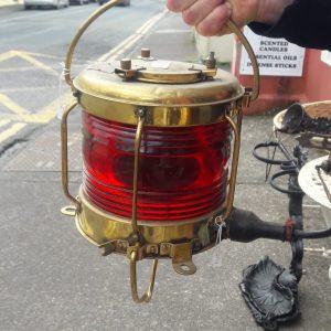 Navigation light from ship price 260 euro Brass Port Side Light