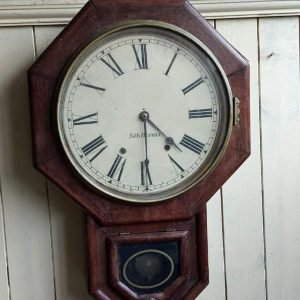 Old Wall clock going but not striking price 120 euro