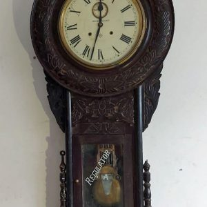 Very large ansonia clock with second hand price 650 euro